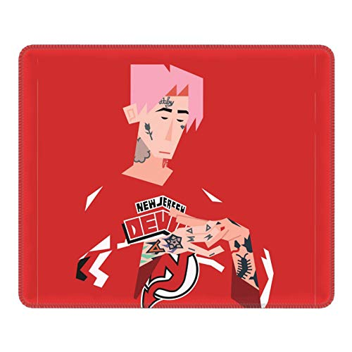Lil-Peep Mouse Pad Anti-Slip Rubber Thickening Design Home Office