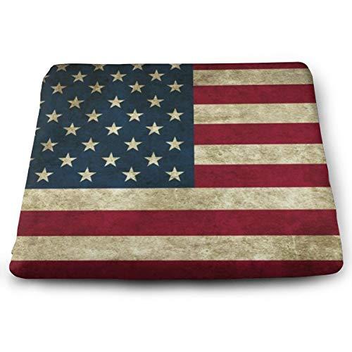 Funny Z Cuscino Sedile Sedia Bandiera USA Allevia I Muscoli dei Glutei Elasticità Cuscinetti in Schiuma per la Casa Dell'Ufficio