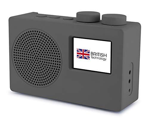 Smith-Style Play DAB+ FM DAB Digital Radio Portable Radio with AUX Input,...