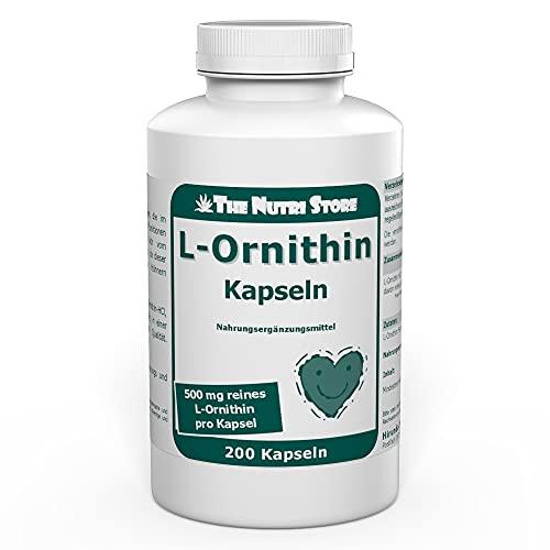 Hirundo Products -  L-Ornithin 500 mg
