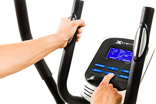 Product Image 6: XTERRA Fitness EU150 Hybrid Elliptical/Upright Bike, Black