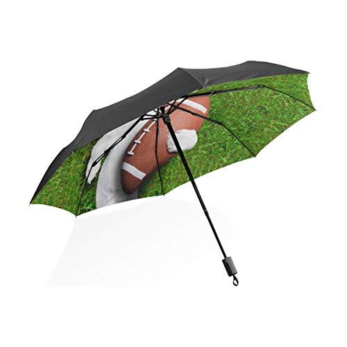 Kinder Regenschirme Fußball Hund Halten Rugby Ball Lachen Tragbare Kompakte Taschenschirm Anti Uv Schutz Winddicht Outdoor Reise Frauen Regenschirme Für Kinder