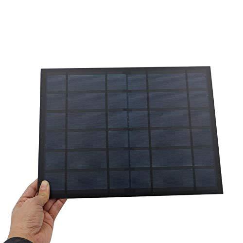 GNY Cargador Solar 6V 1.6A 10W Panel Solar Portátil Mini SunPower DIY Módulo de Bricolaje Sistema de Panel para la lámpara Solar Toy Toy Teléfono Células solares