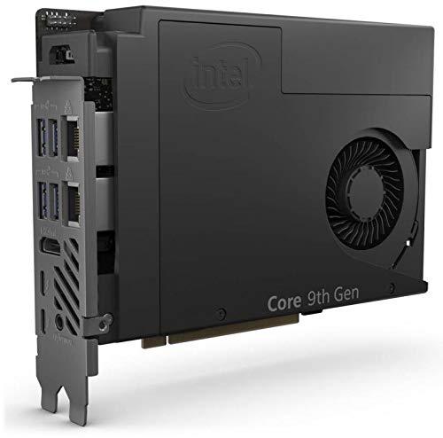 Intel Siguiente Unidad de Kit de Computación 9 Extreme Compute Element - NUC9I7QNB - Karte - Core i7 9750H 2.6 GHz - 0 GB - kein HDD