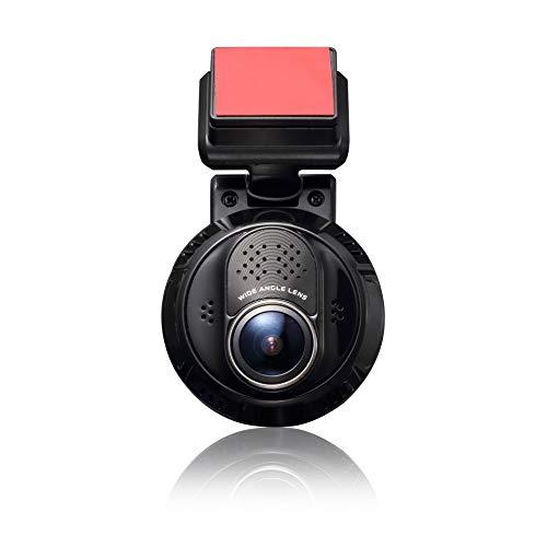 Yuntab Cámara de Coche Dash CAM 1080P HD, Conexión WiFi, Captura Remota a 110 °, GPS Sync Track S4