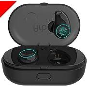 Arbily Auricolari Bluetooth Cuffie Wireless, Auricolari Senza Fili Mini Cuffie in Ear con Scatola Ricarica Auricolare Stereo Invisibile Cancellazione del Rumore Touch Control