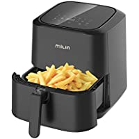 MILIN Air Fryer 5.8 Quart 1700-Watt Electric Hot Airfryers