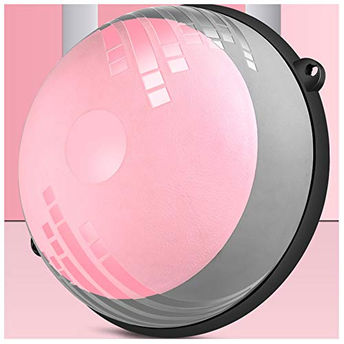 Review Of DYHJU Balance Ball Trainer Half Yoga Exercise Ball with Resistance Bands and Foot Pump for...