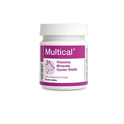 PETS Dolfos Multical 90 Mini Compresse Vitamine Minerali per Cani di Piccola Taglia