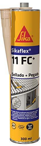 Sika 533941 Adhesivo multiusos y sellador de juntas elástico, Beige, 300ml
