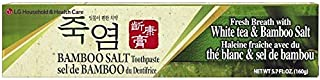 [LG] White Tea & Bamboo Salt Toothpaste 5.7oz (Pack of 6)