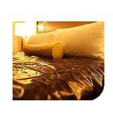 Telo da gioco impermeabile, Gioco di coppia per adulti Sesso Letto Passione Forniture Fogli impermeabili Amante Strumento per prodotti Flirt impermeabili SM Nero,210×210cm