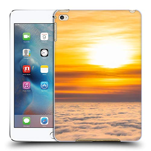 Official Patrik Lovrin Stunning Sunset Sun Above Clouds Hard Back Case Compatible for Apple iPad mini 4