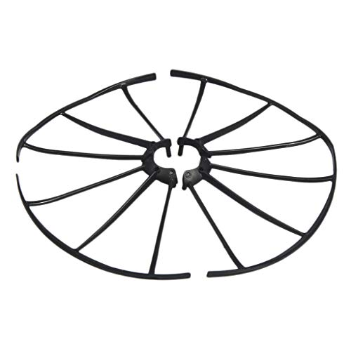 dailymall Drone Propeller Guards Prop Protector for KY101 HJ14 LF608 Spare Parts - Black
