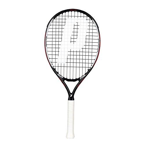Prince Warrior 25 ESP - Raqueta de Tenis, Color Negro