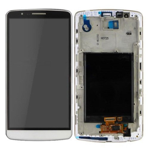 WUHFSHOPP Accesorios para pantalla LCD táctil Digitizer montaje completo, sustitución pantalla con marco para LG G3 / D850 / D851 / D855 / VS985
