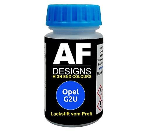 Lackstift für Opel Adria BLAU metallic G2U schnelltrocknend Tupflack Autolack