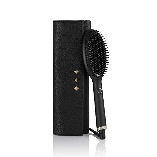 GHD - Coffret Glide - Brosse Lissante (Noir) + Pochette Thermorésistante