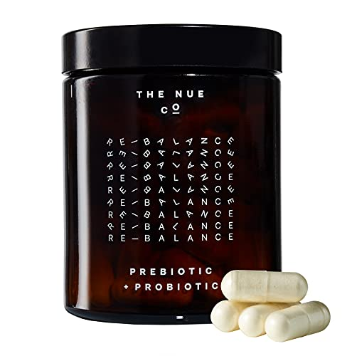 The Nue Co. Natural Prebiotic + Probiotic - IBS Relief - Supports Gut...