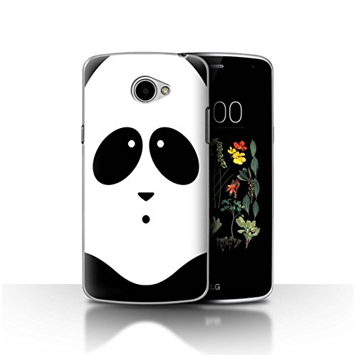 Stuff4®® - Funda para teléfono móvil con diseño de Dibujos Animados Panda LG K5/X220