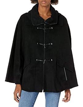 womens wool toggle coat