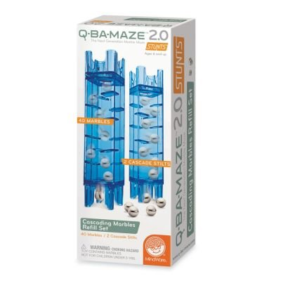 Q-BA-MAZE 2.0 Cascading Marble Refill Se Game by MindWare