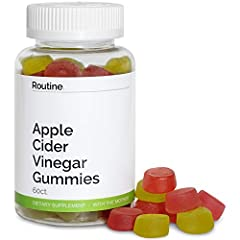 💪DETOX YOUR SYSTEM, BETTER DIGESTION, MORE ENERGY, CLEARER SKIN, CLEANSE : gain more energy, watch your skin clear up, and feel as your body detoxes with Routine Gummies. Enjoy the benefits of ACV without the downsides of drinking it 🍎60 DELICIOUS CH...