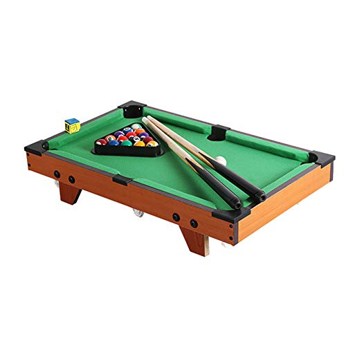 %24 OFF! softneco Portable Billiard Table with Ball and Sticks,Indoor Tabletop Billiards for Home Pa...