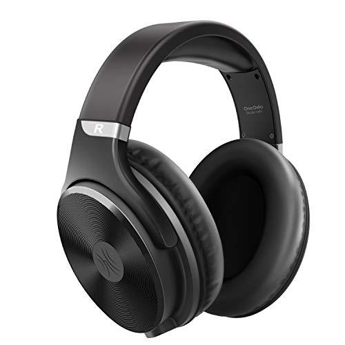 OneOdio Over Ear Kopfhörer mit Kabel, Professionell Geschlossener Studio HiFi Kopfhörer mit 50mm Treiber, Adapter Frei Headphones mit 3.5-6.35mm Buchse für Recording Monitoring PC Gitarre Piano