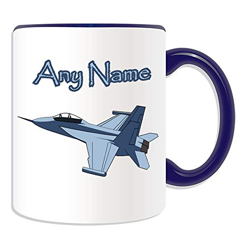White Coffee Mug 11 Funny Mugs Colorful Coffee Mugs Personalised Gift F-18 Hornet Mug Money Box Cup Battle AirPlane Attack Gunship For Kids Men and Woman