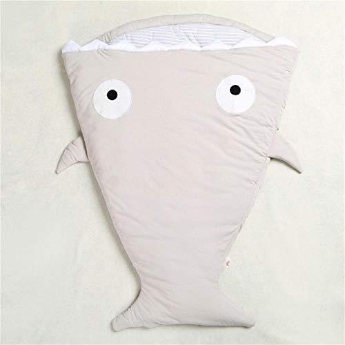 SDFS Süßer Baby-Schlafsack mit Hai-Motiv, Cartoon, Anti-Kick ist Herbst und Winter 1