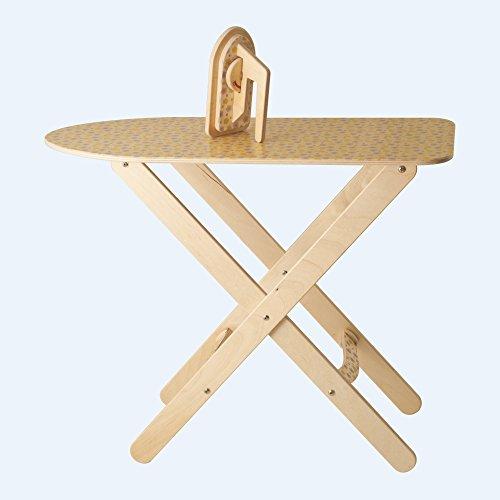 Dida - Kleines Holz-Bügelbrett Mit Bügeleisen, Spiel Der Imitation, Haushaltsspielzeug, Interessant Für Den Kindergarten Und Die Kinderkrippe