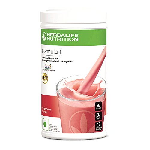 Herbalife Nutrition Formula 1 Nutritional Shake Mix, 500 gm for Weight Loss (Strawberry)