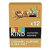 BE-KIND Barritas con almendras caramelizadas y sal marina, paquete de 12 unidades