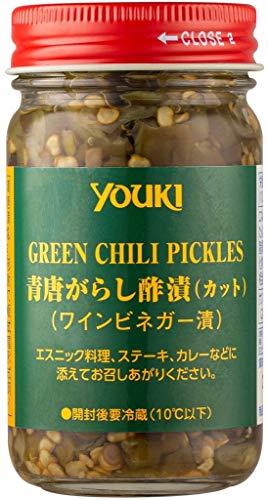 YOUKI ユウキ 青唐辛子カット 酢漬け 110g 12個 ZTHC