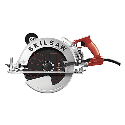 SKILSAW SPT70WM-01 15 Amp 10-1/4' Magnesium SAWSQUATCH Worm Drive Circular Saw