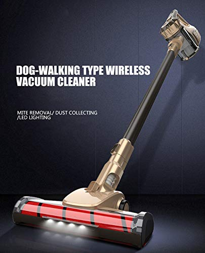 Great Features Of WUAZ Portable 2 in 1 Handheld Wireless Vacuum Cleaner Cyclone Filter 8900Pa Strong...