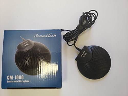 SoundTech CM-1000 3.5 mm Omni-Directional Conference Microphone