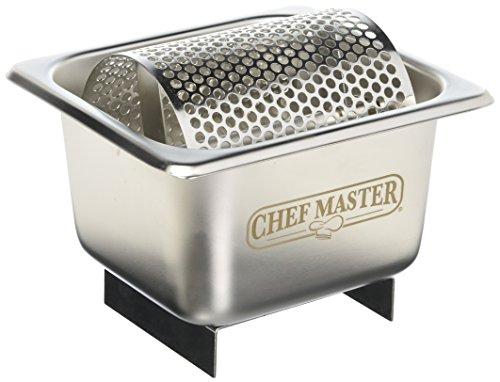 Chef-Master Esparcidora de mantequilla de acero inoxidable 90021, color plateado