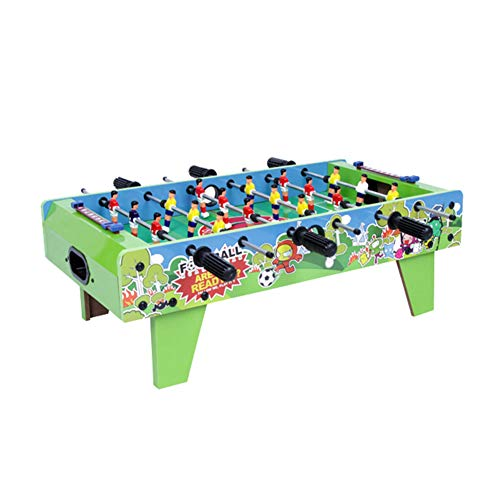 Save %23 Now! TriGold Mini Foosball Table Wooden,Portable Football Table for Kids,Indoor Tabletop Soccer Game for Home Party B