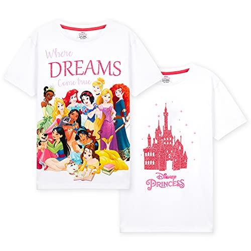 Disney Camisetas Niña Manga Corta, Pack...