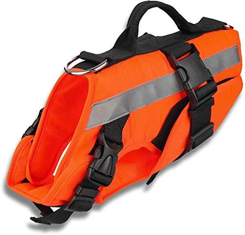 Apetian Dog Life Preserver Dog Life Jacket Dog Life Vest Dog Floatation Swimming Vest (X-Large)