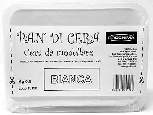 PROCHIMA CM882G500 Pan di Cera, Bianca, Pasta Dura, 500 gr