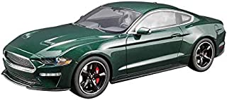 2019 Ford Mustang Bullitt Dark Highland Green 1/18 Model Car by GT Spirit for Acme US017
