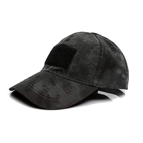 QMFIVE Sombrero Multicolor al Aire Libre del Sombrero de la protección Solar para el acampamento táctico de la Subida del Paintball de Airsoft