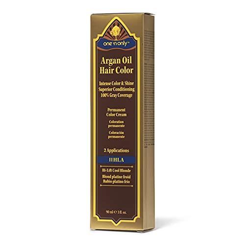 One 'n Only 11HLA High Lift Cool Blonde Argan Oil Permanent Color Hair Cream 1HLA Hi-Lift Cool Blonde