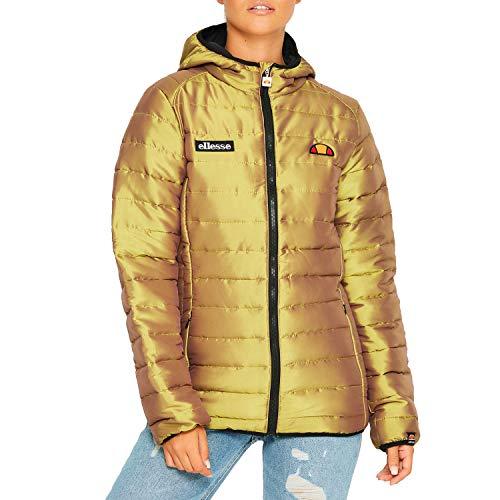 ellesse Herren Winterjacke Lexus Padded Jacke, Größe:M, Farbe:Gold