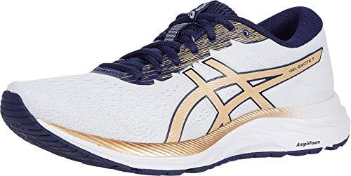 Asics Gel-Excite 7 Sneaker für Damen, Grau - Lampenschirm aus Fleece, Champagner. - Größe: 43.5 EU