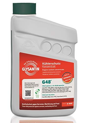 GLYSANTIN BASF G48® Premium Motorkühlmittel und Frostschutz Konzentrat 1,0L blau-grün