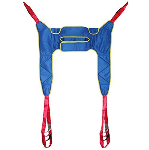WHYTT Ganzkörper Sling Beinheber Transfergürtel Lift Sling Geteilter Beinriemen für bettlägerige Behinderte
